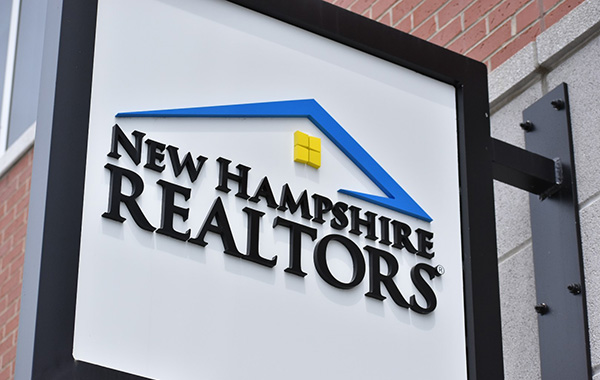 New Hampshire Realtors Exterior Building Sign